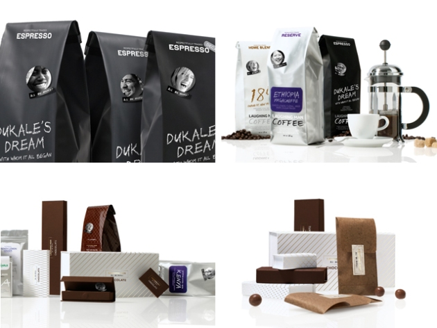Laughing Man Diseño de packaging